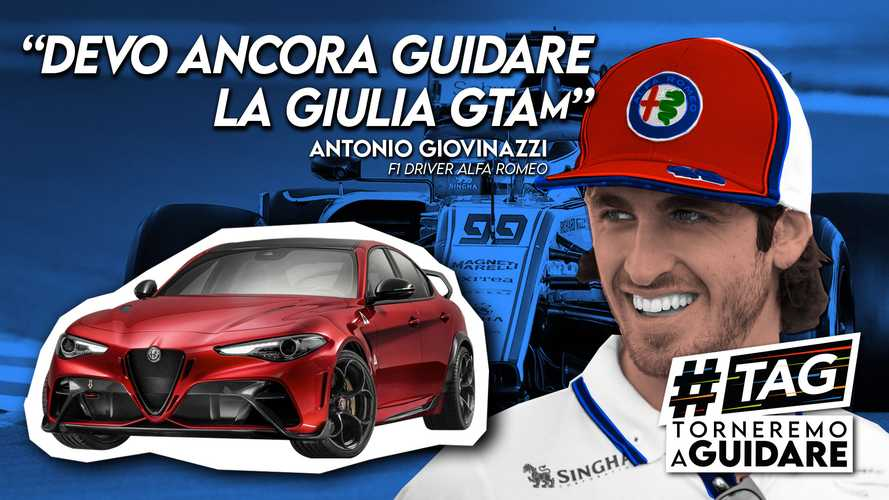 Giovinazzi, la voglia di vincere in F1 e di guidare l'Alfa Giulia GTAm