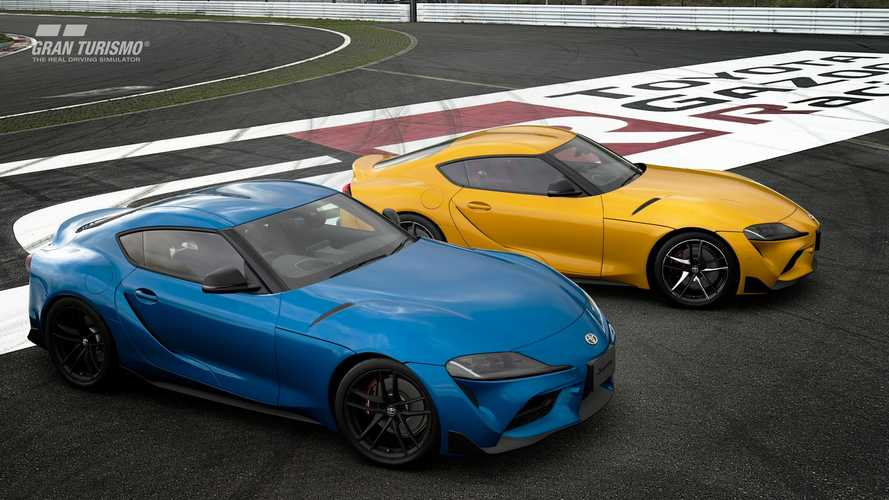 La Toyota GR Supra RZ 2020 arriva su Gran Turismo Sport