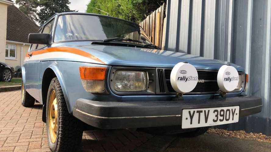 Buy this modified Saab 99GL and appear on TV!