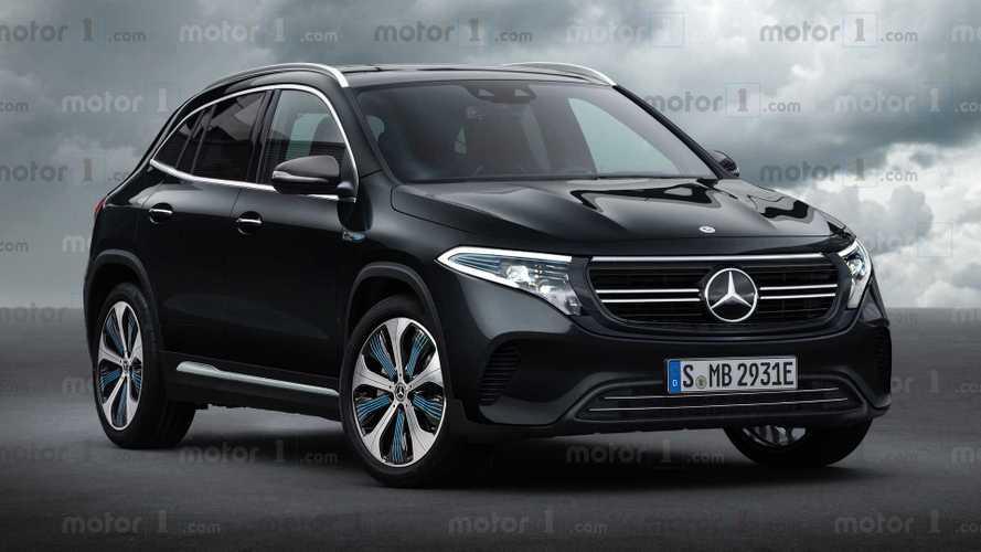 Mercedes-Benz EQA böyle mi görünecek?