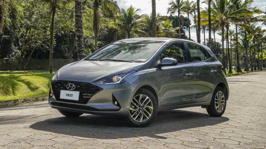 Hyundai HB20 foi o carro mais vendido do Brasil no 1º semestre