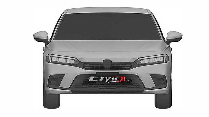 2022 Honda Civic Sedan design from trademark office
