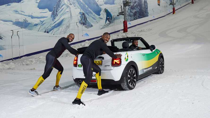 Cool Runnings: Jamaikas Bobteam trainiert mit dem Mini Cabrio