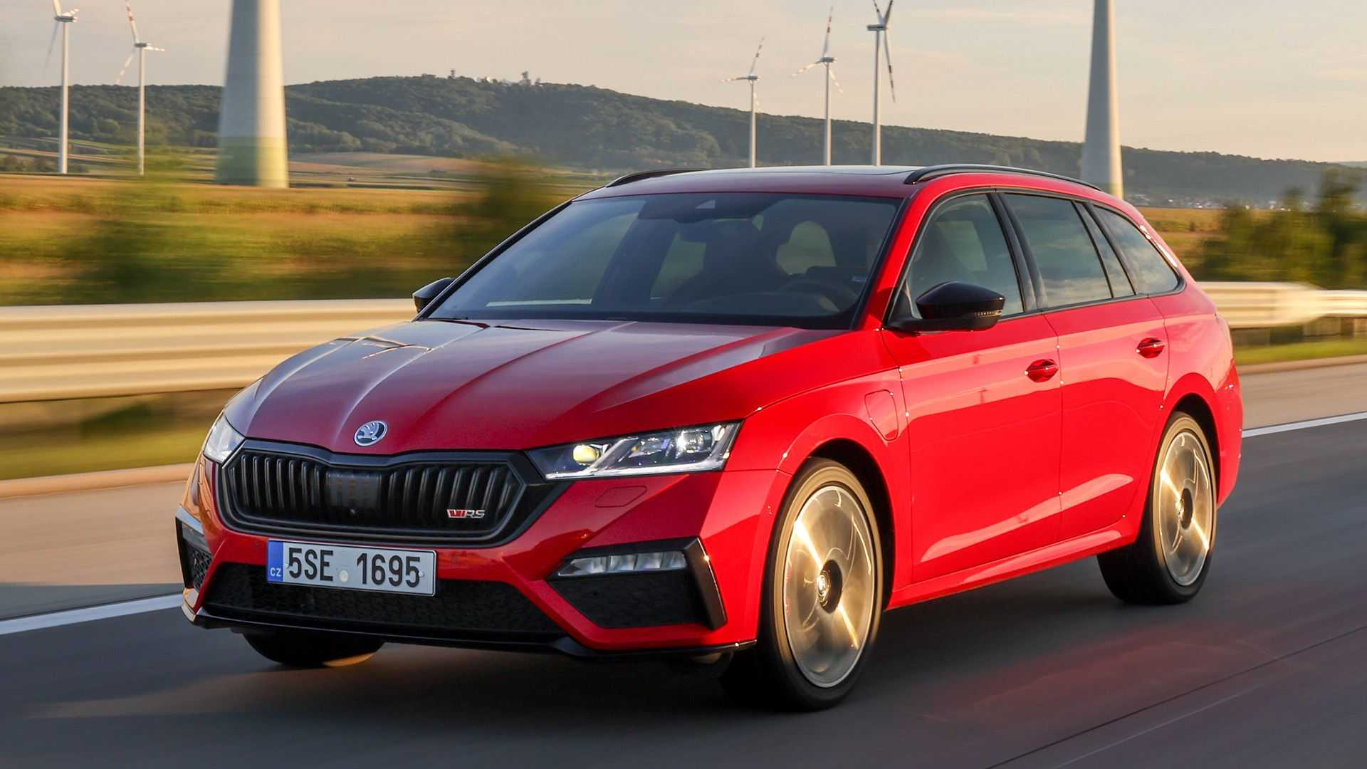 Skoda Octavia Rs Iv 2020 In The Test Charging Master Archyde