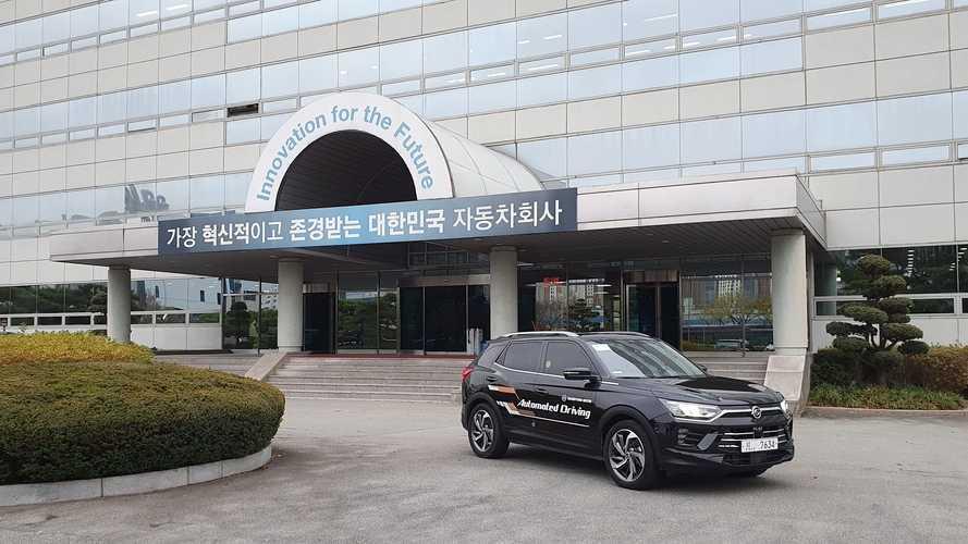 Guida autonoma, SsangYong Korando porta su strada il livello 3