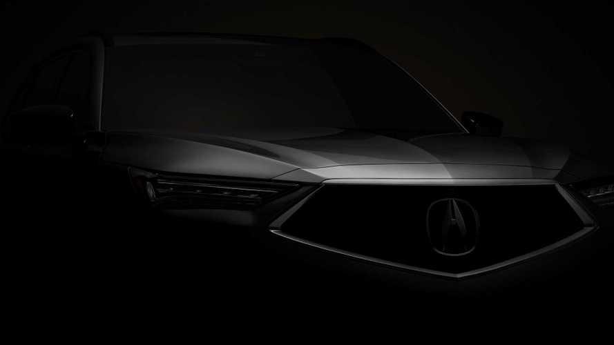 Acura раскрыла дату премьеры серийного MDX