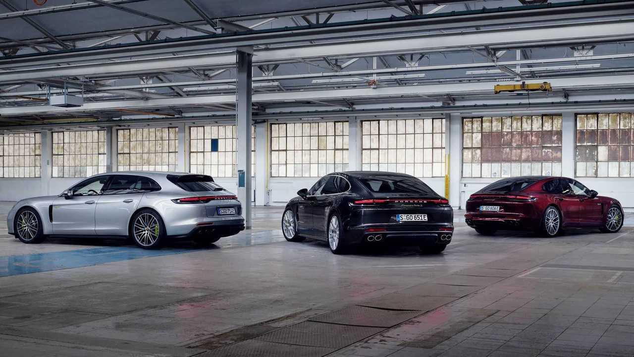 Porsche Panamera Hybrid - linha