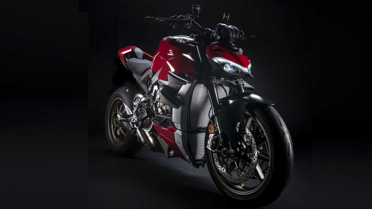Ducati Streetfighter V4: accesorios Performance