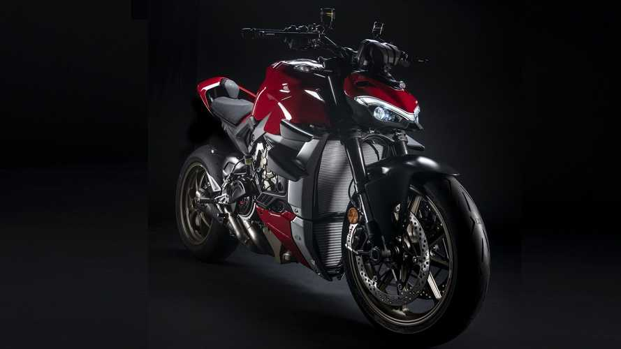 Ducati Streetfighter V4, più estrema con gli accessori Performance