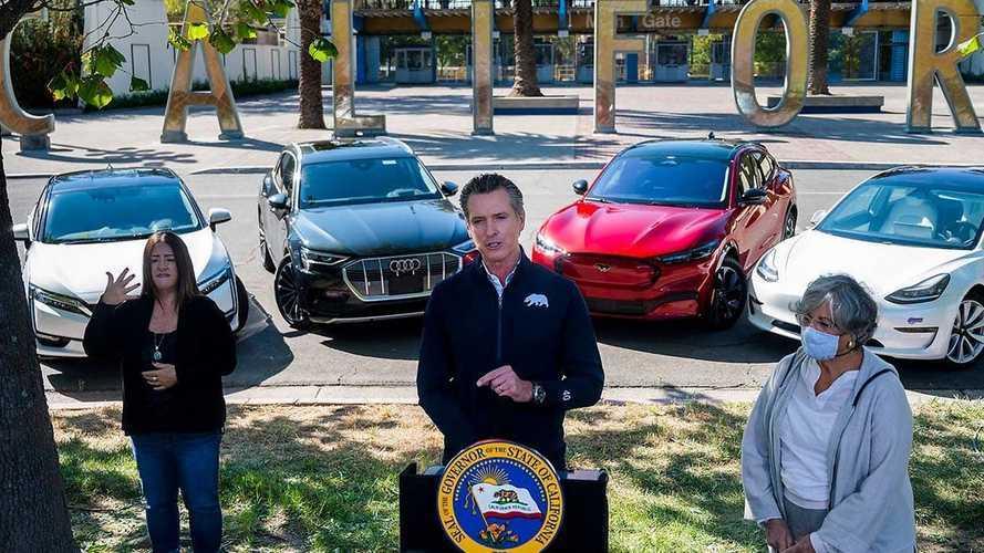 Só elétricos: Califórnia proíbe carros a combustão a partir de 2035