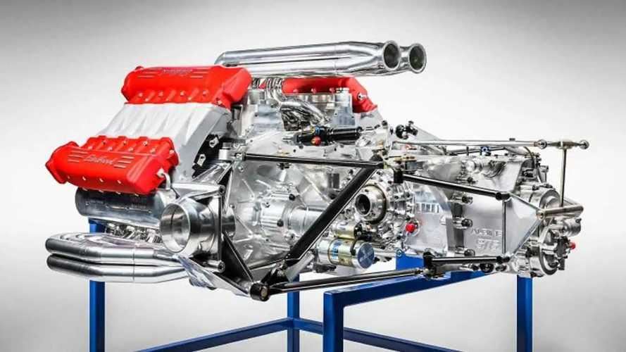 Hyperod W16, il motore