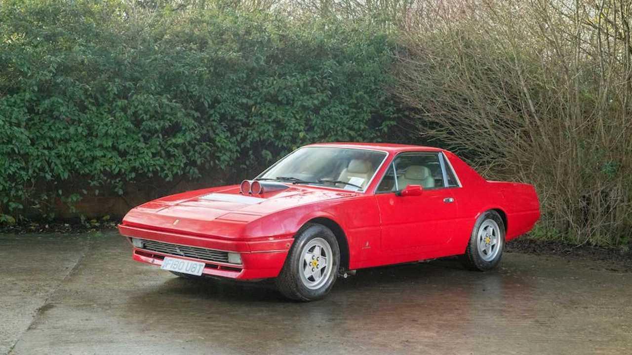 Ferrari F412 Pickup Was Maranello's Truck Nearly 40 Years Before Purosangue