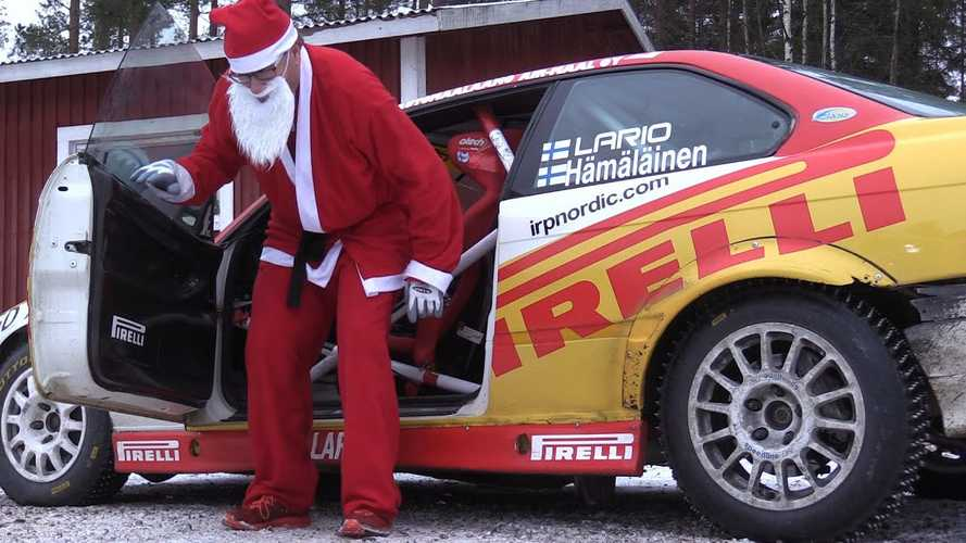 Santa Had A Rally Good Christmas Driving This 400-HP E36 M3 Race Car