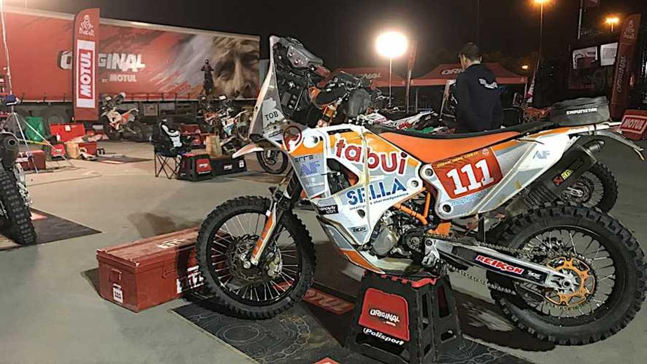Cesare Zacchetti Dakar 2020