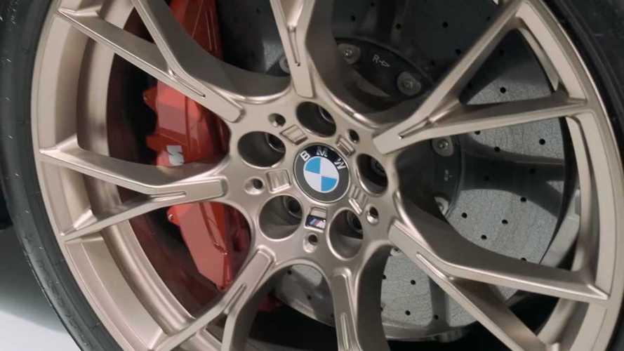 BMW M5 CS Teasers