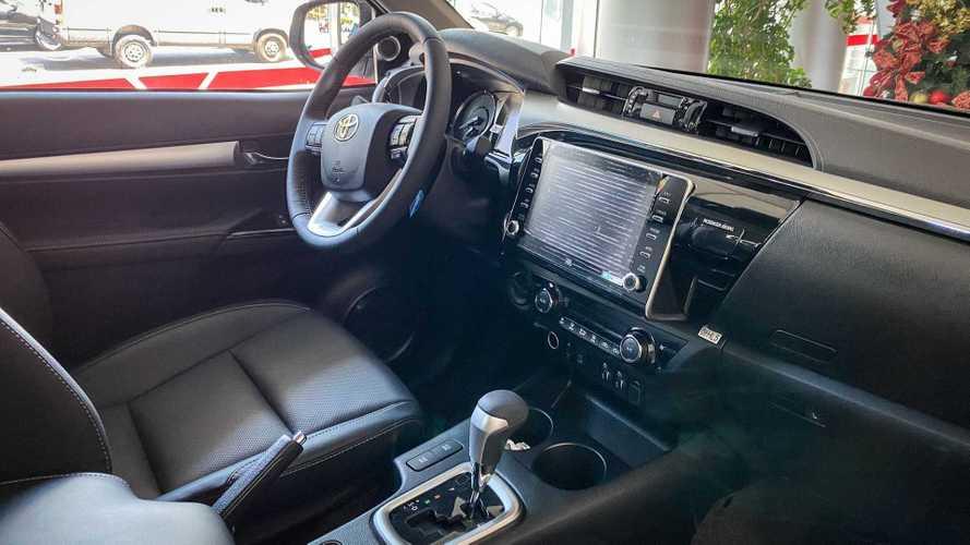 Nova Toyota Hilux 2021 (concessionária)