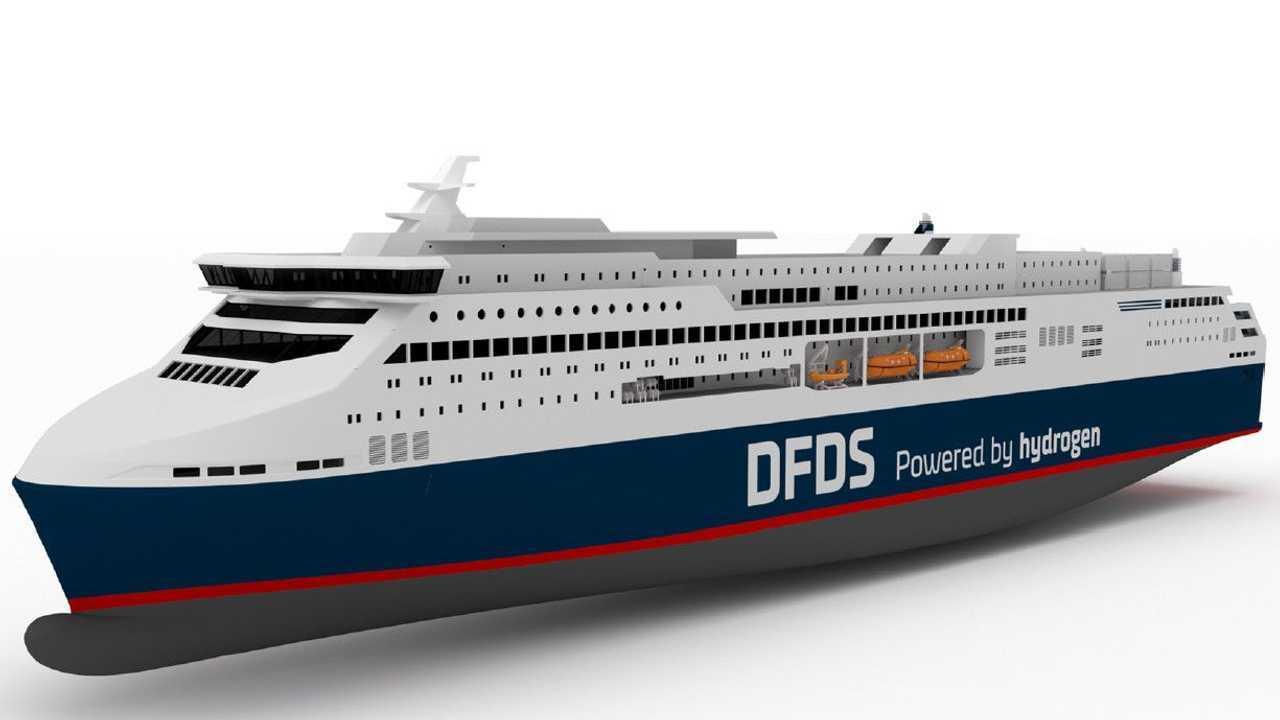 DFDS Hydrogen ferry