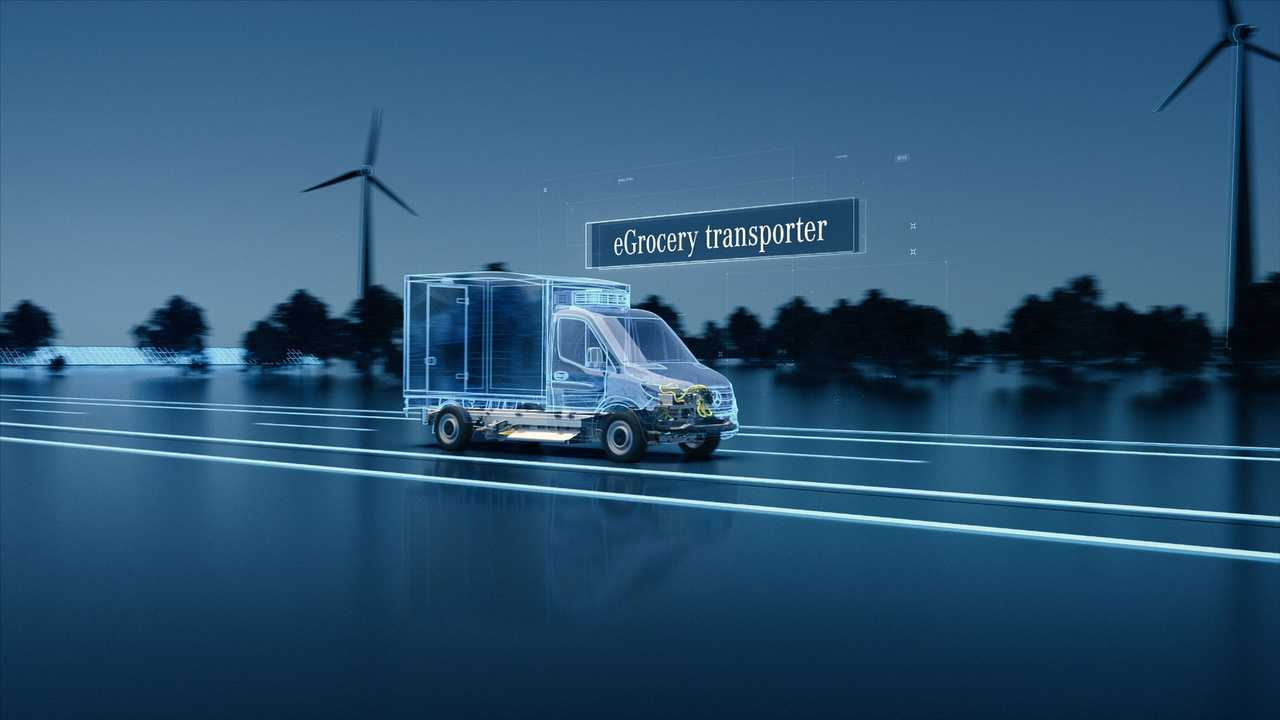 Mercedes New eSprinter on EVP