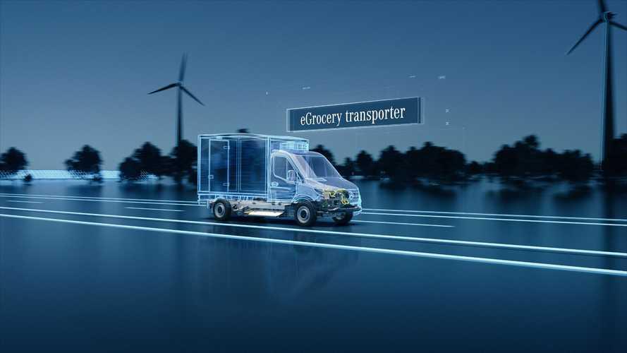 Mercedes, tre fabbriche per il nuovo eSprinter