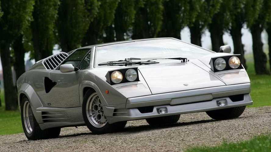 Lamborghini, todos los 'Aniversario' del Countach al Aventandor