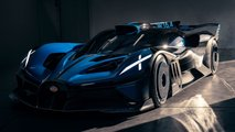 new bugatti bolide photos