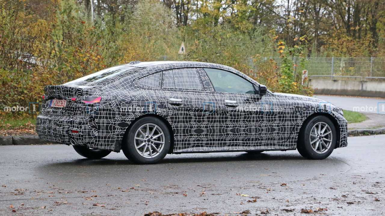 BMW Serie 4 - Fotos da spia Gran Coupé