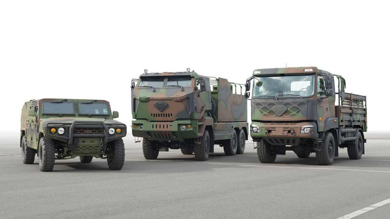 Военные машины Kia