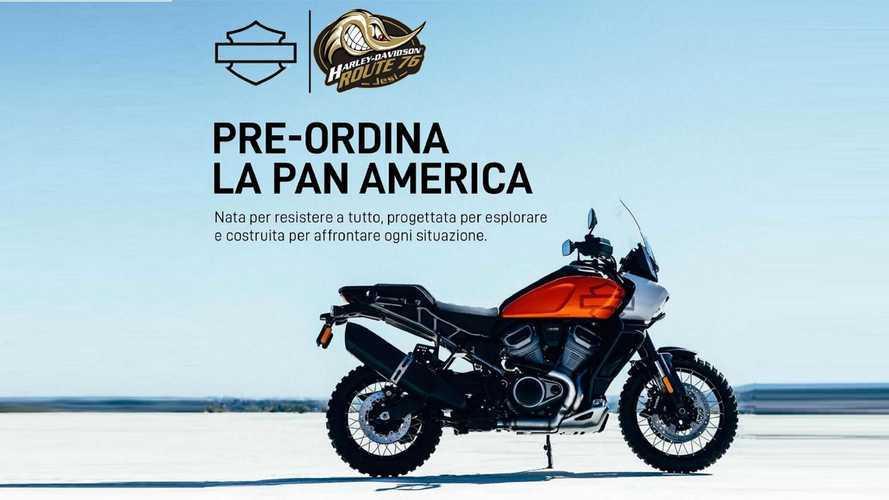 Harley-Davidson Pan America, iniziate le prenotazioni