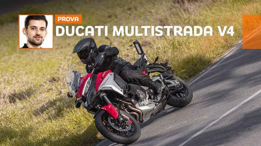 Ducati Multistrada V4 2021, ecco come va