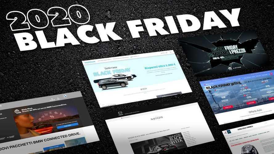 Black Friday, sconti e offerte per comprare o noleggiare l'auto