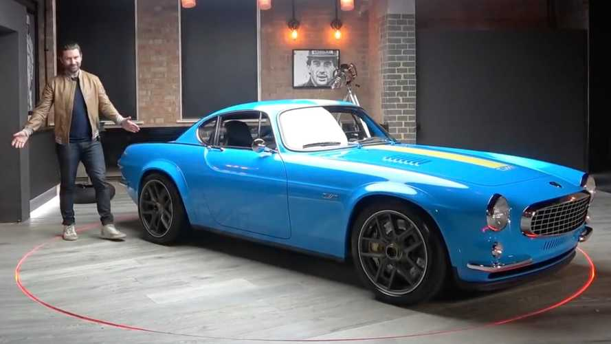 Volvo P1800 Cyan Shows Its Retro-Modern Coolness In Extended Video