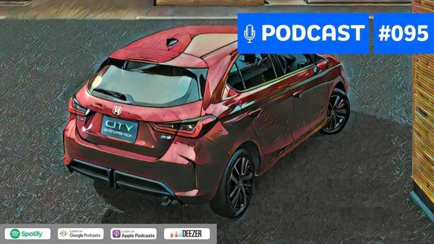 Motor1.com Podcast #95: Novo Honda City Hatch será um tiro certo no Brasil?