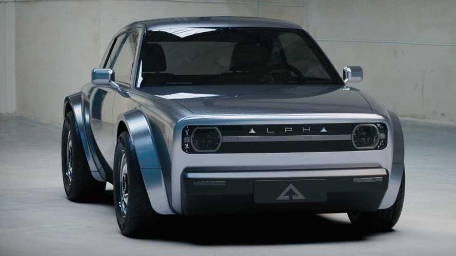 Découvrez l'Alpha Ace, un petit coupé électrique néo-rétro