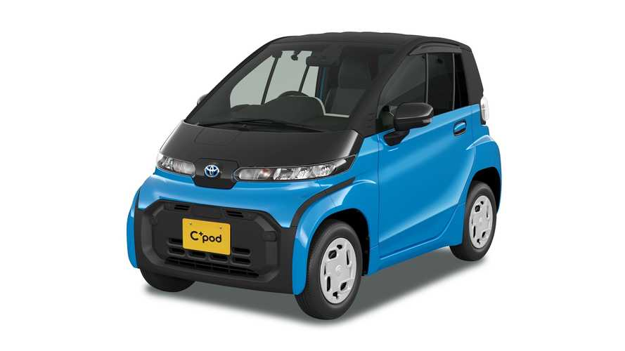 Japan: Toyota Launches Tiny C+pod Electric Car