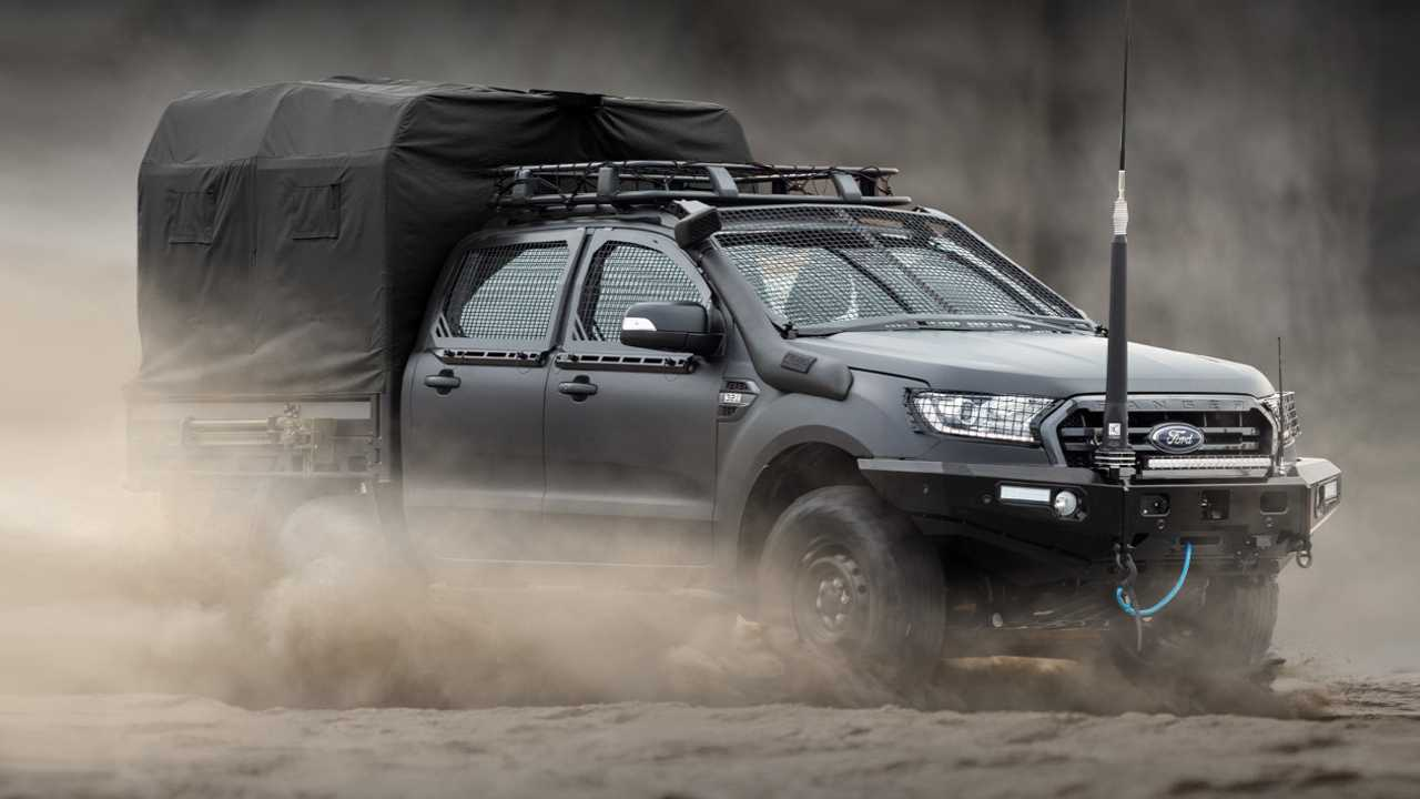 Ford Ranger Armored Assault Vehicle