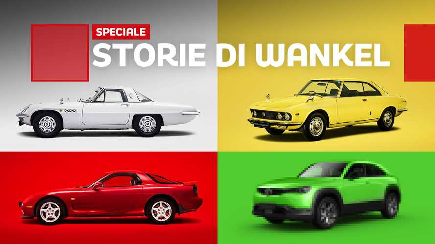 Cosa si prova a guidare un motore Wankel Mazda?