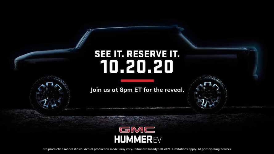 GMC Hummer Electric Pickup Truck To Debut At Game 1 Of World Series