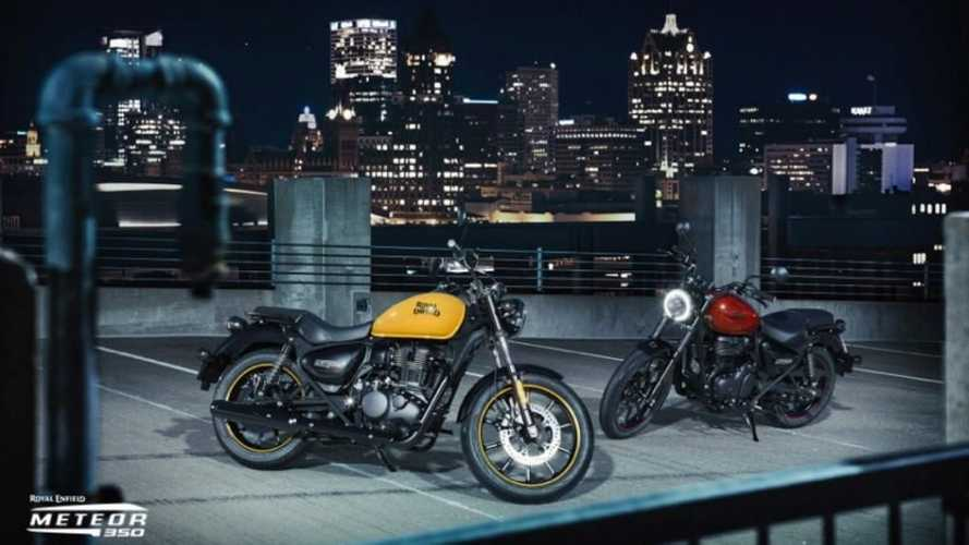 There Are Already 8,000 Royal Enfield Meteor 350 Pre-Booked