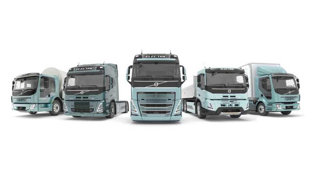 Электрические грузовики Volvo Trucks