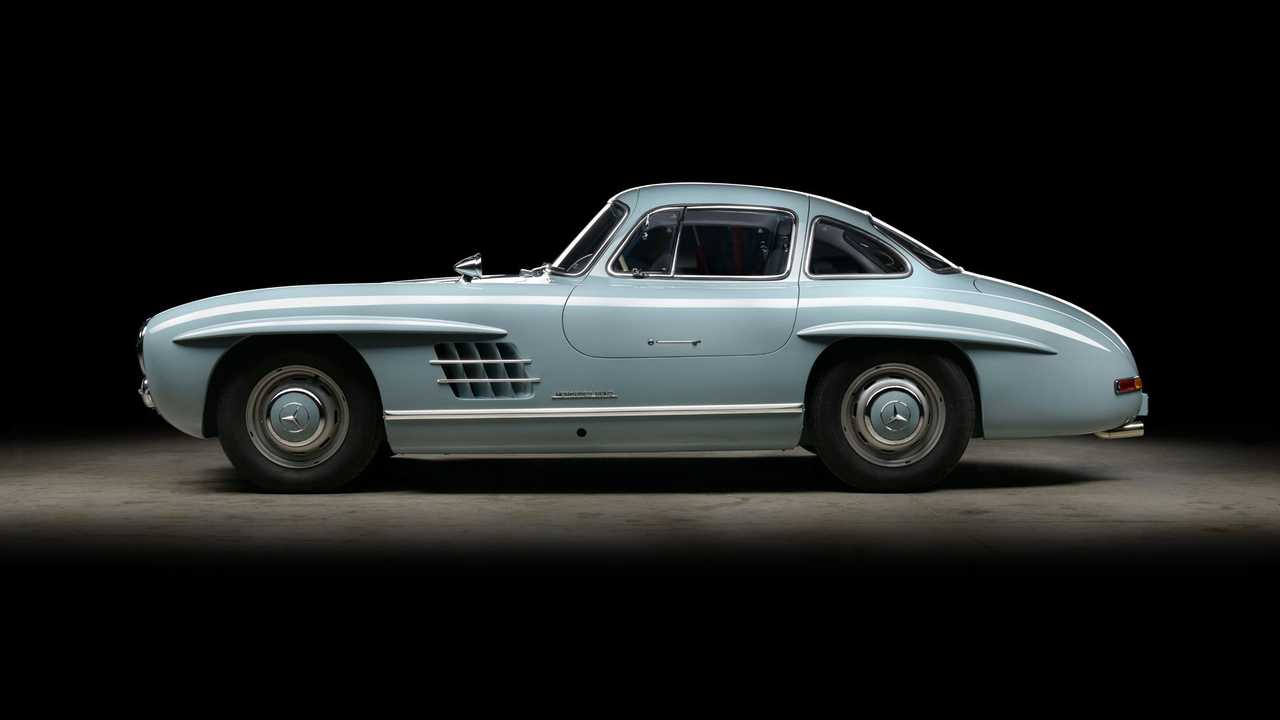 Mercedes 300SL Gullwing restaurado