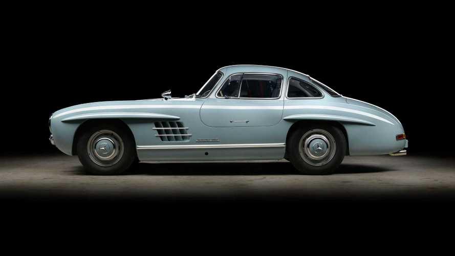 Este Mercedes-Benz 300SL Gullwing tiene una restauración curiosa detrás