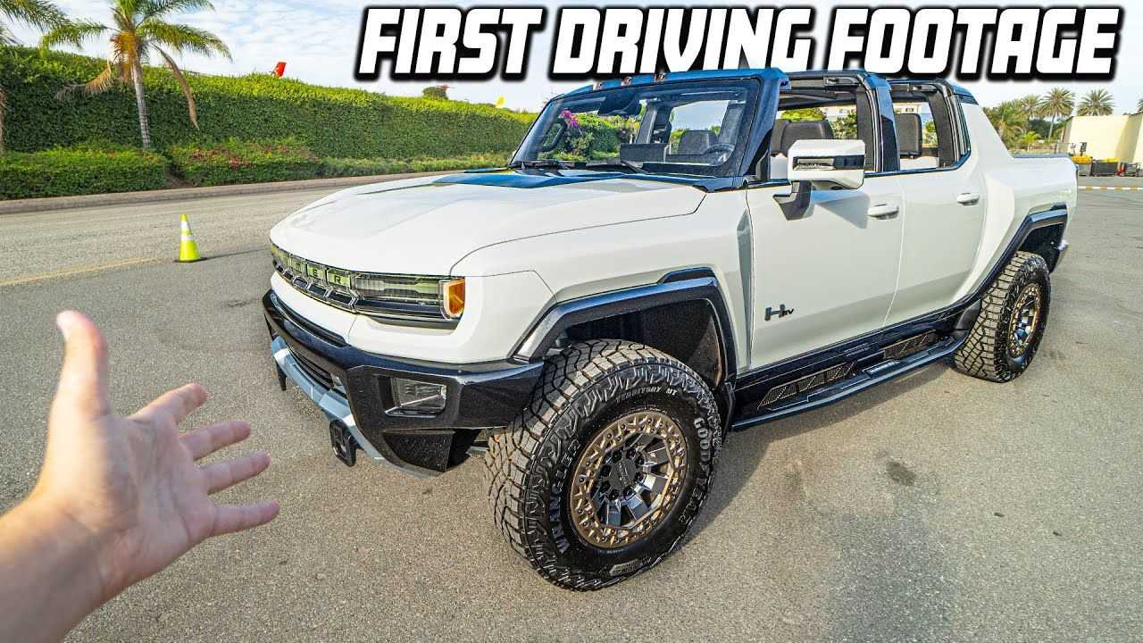 GMC Hummer EV Prototype: Check Out The Actual, Moving ...