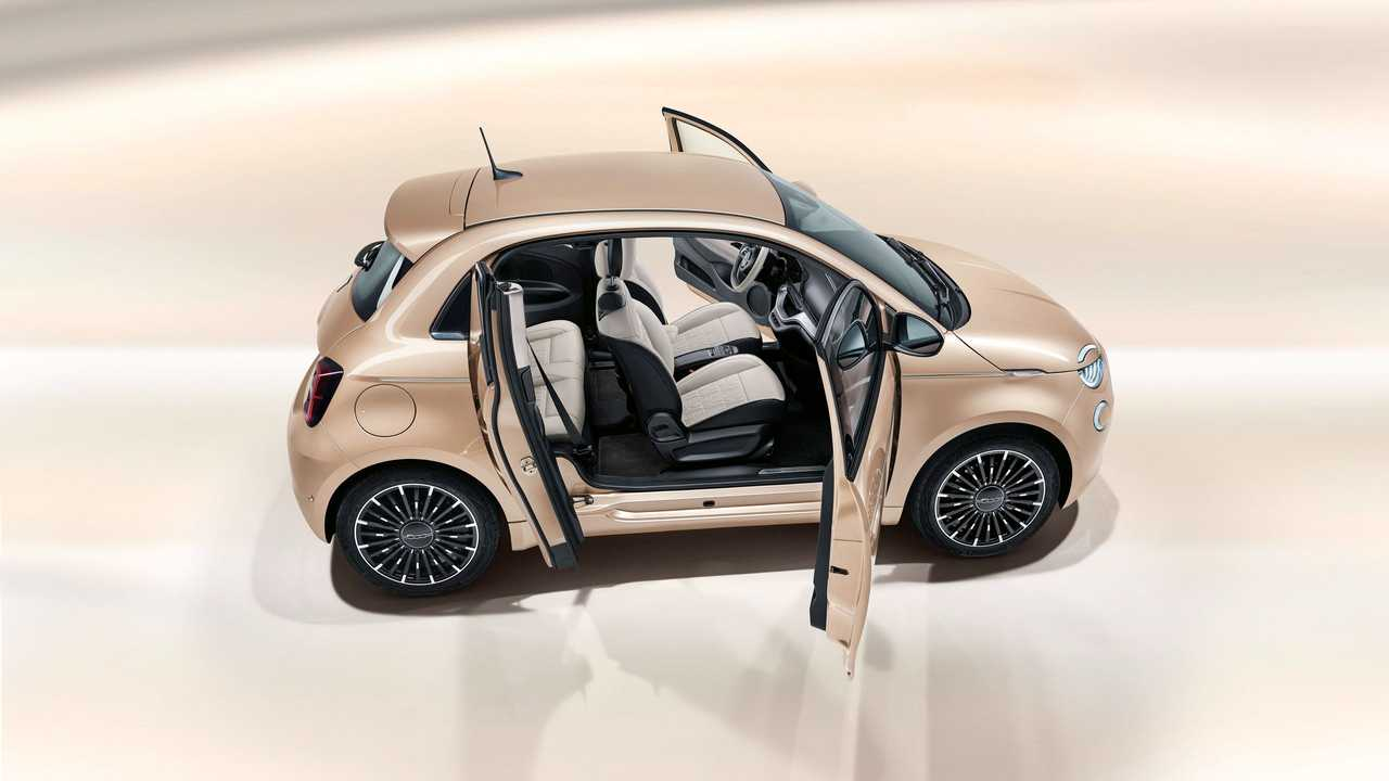 The New Fiat 500 Electric: Three Types, Two Battery Options