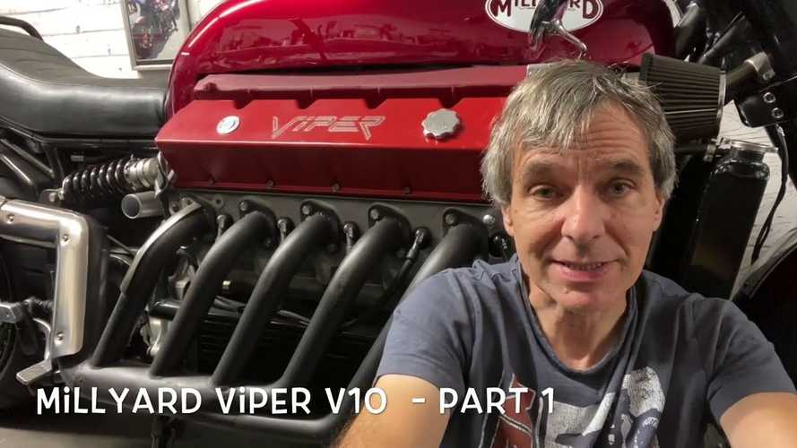 Watch Allen Millyard Walk You Through His Viper V10 Bike Build
