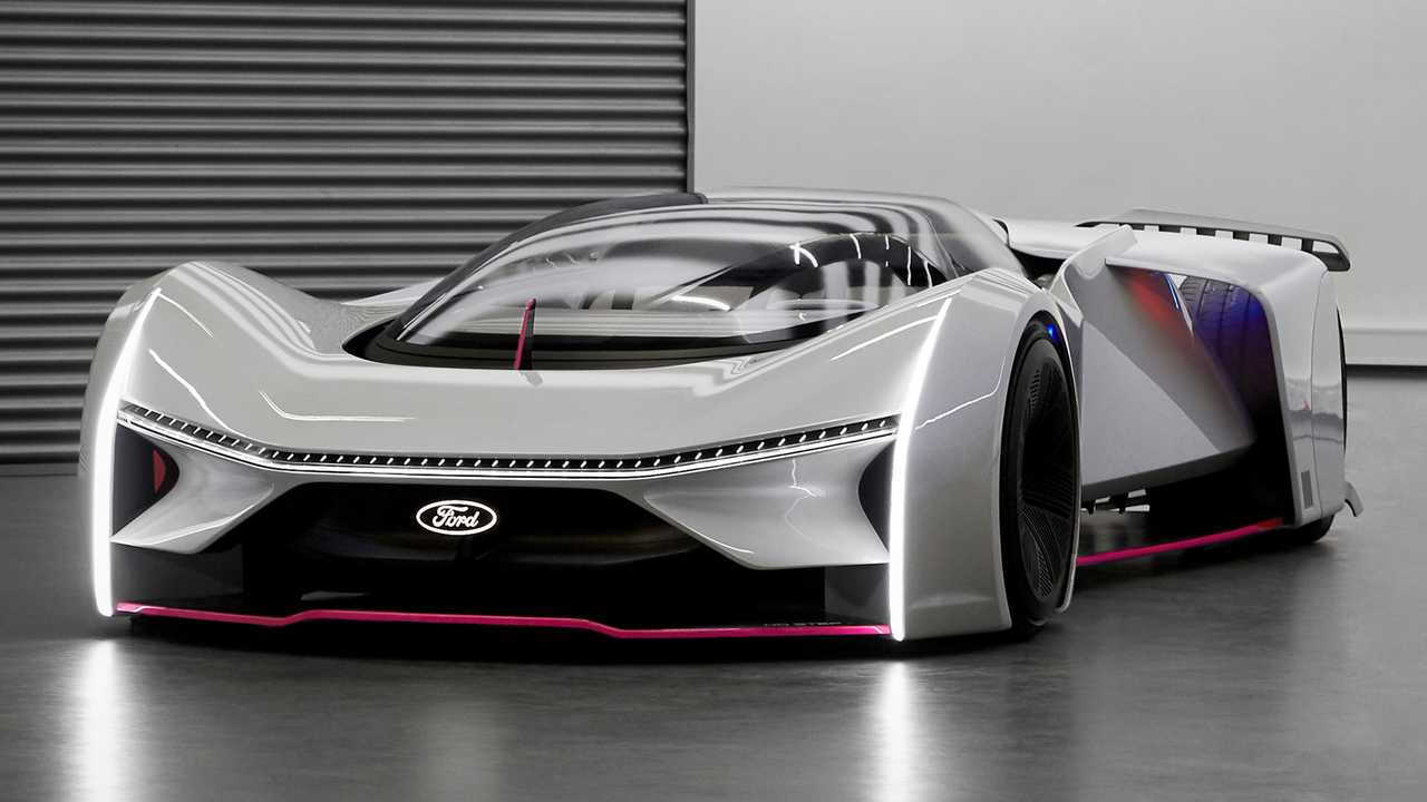 Fordzilla P1 Virtual Race Car