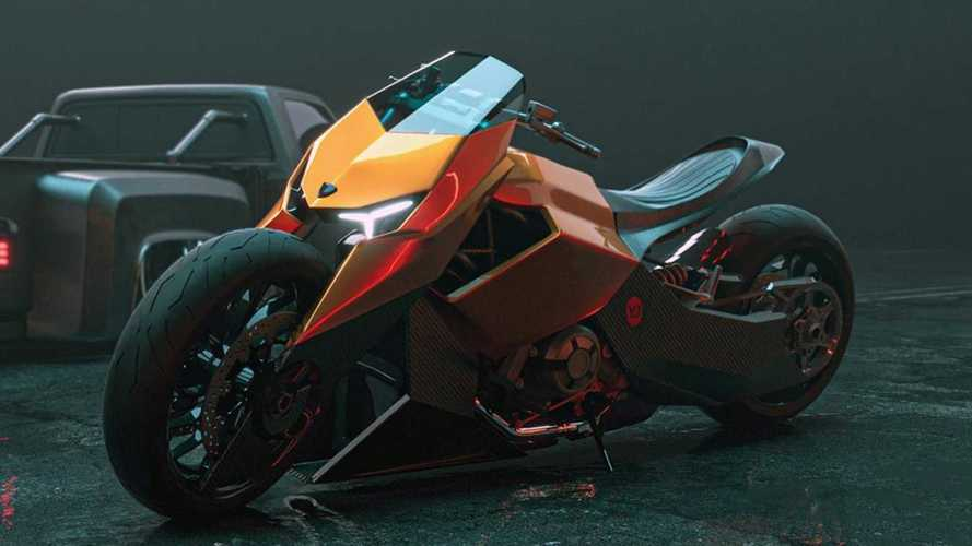 Check Out This Lamborghini Motorcycle Concept That Never Was