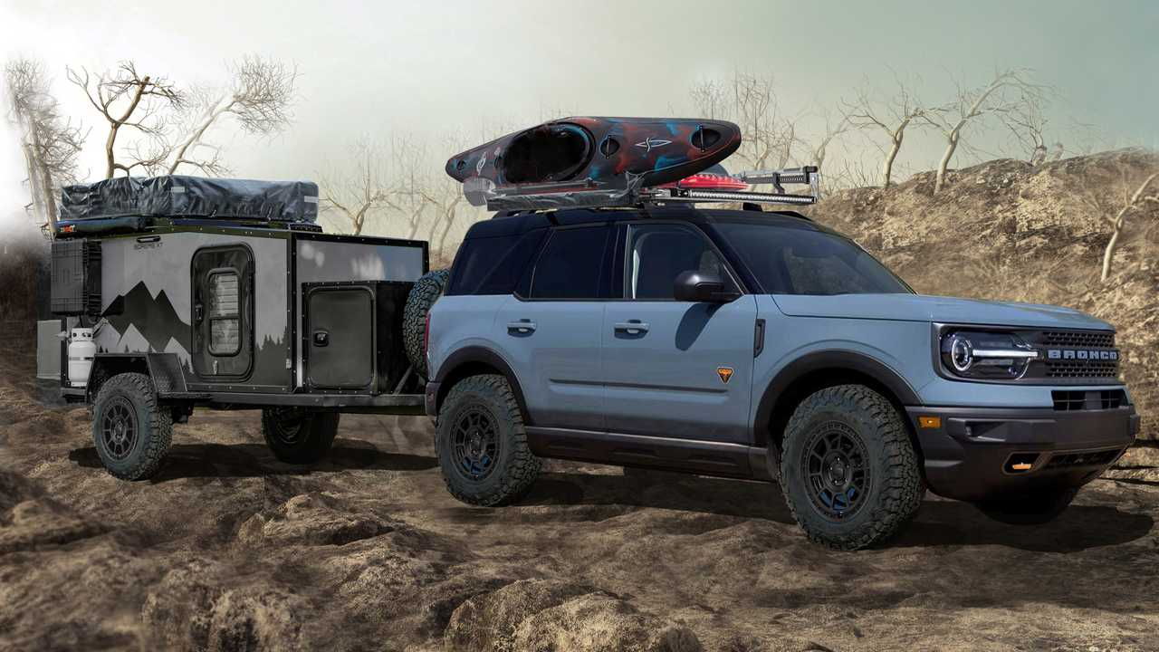 MAD Ford Bronco Sport Badlands Overlander Concept SEMA
