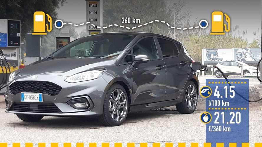 Ford Fiesta Hybrid, le test de consommation réelle
