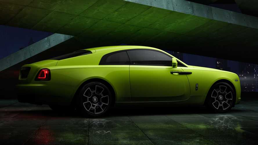 Rolls-Royce brightens up Black Badge models with new Neon Nights paint