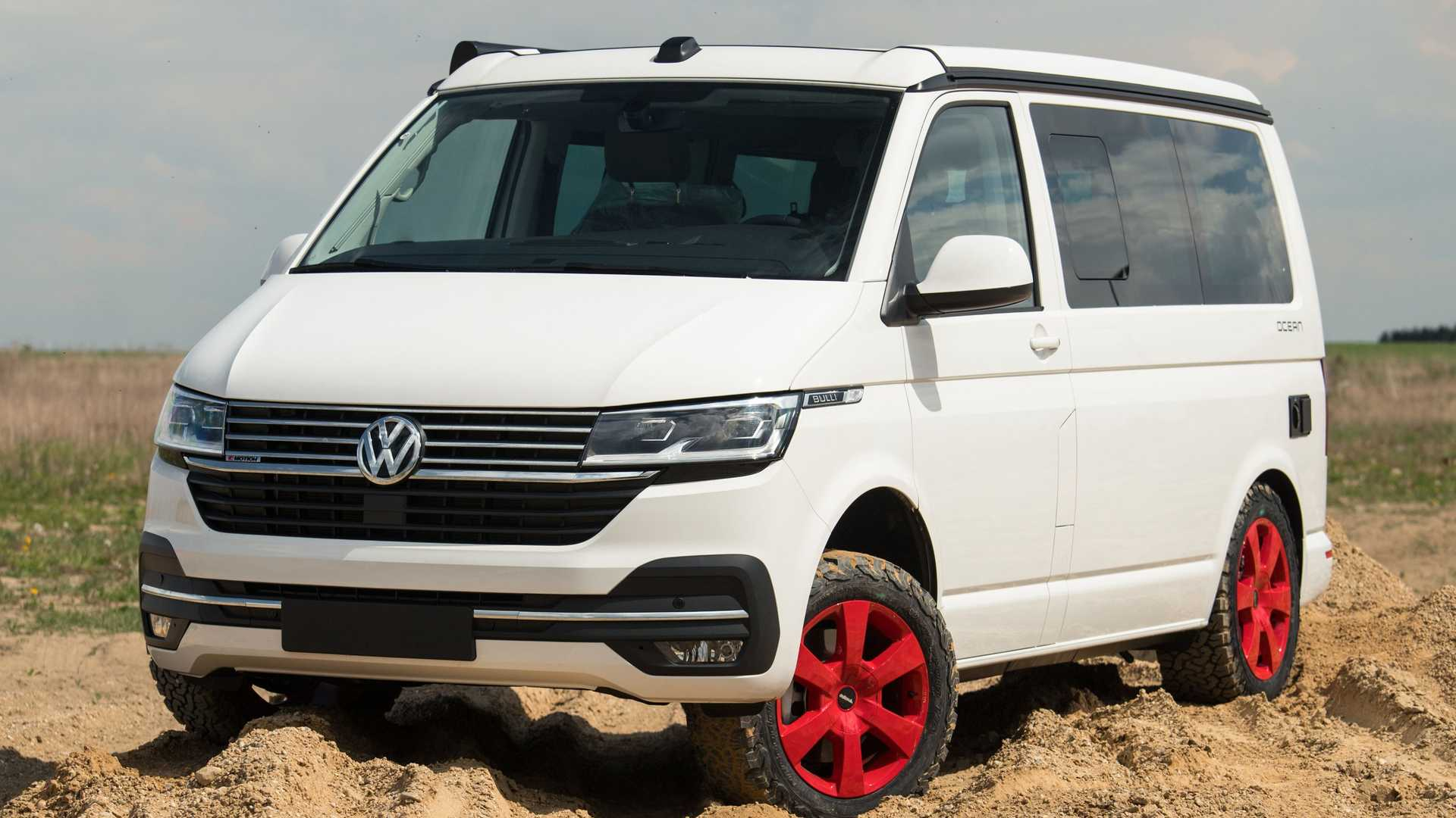 Lifted Vw Transporter Is Ready For An Off Road Adventure